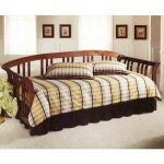 Brown Cherry Daybed with Roll Out Trundle – Dorchester