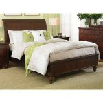 Brown Cherry Queen Size Storage Bed – Cambridge