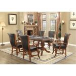 Brown Cherry and Black 7-Piece Gaming Set – Franklin