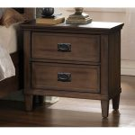 Brown Classic Nightstand – Park City