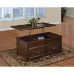 Brown Lift Top Wood Coffee Table – Timber