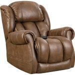 Brown Power Recliner – Atlantis