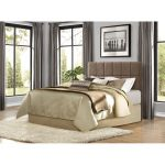Brown Upholstered Contemporary Full/Queen Headboard – Potrero