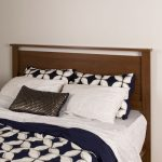 Brown Walnut Full/Queen Headboard – Primo