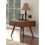 Brown Wood End Table – Holloway
