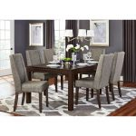 Brown and Gray Modern 5-Piece Dining Set – Kavanaugh Collection