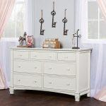 Brush White Double Dresser – Cheyenne