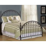 Brushed Bronze King Metal Bed – Kirkwell