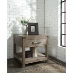 Burnished Walnut Brown End Table – St. Croix