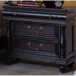 Cabernet Black Traditional Nightstand – Meritage
