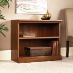 Camden County Planked Cherry 2-Shelf Bookcase