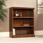 Camden County Planked Cherry 3-Shelf Bookcase