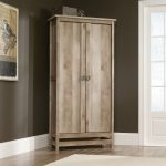 Cannery Bridge Rustic Oak Storage Cabinet