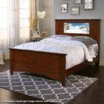 Canterbury Chestnut LightHeaded Full Size Bed