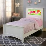 Canterbury White LightHeaded Twin Bed