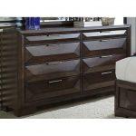Cappuccino Brown Contemporary Dresser – Newland