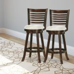 Cappuccino and White Ladder Back Bar Stool (Set of 2) – Woodgrove