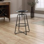 Carson Forge Black Metal Counter Stool