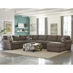 Casual Classic Brown 4-Piece Sectional – Orion