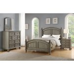 Casual Classic Gray 6-Piece Full Bedroom Set – Barnwell
