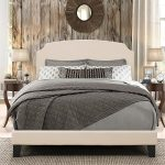Casual Classic Linen Full Upholstered Bed – Desi
