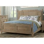 Casual Classic Natural Queen Size Bed – Eden Park