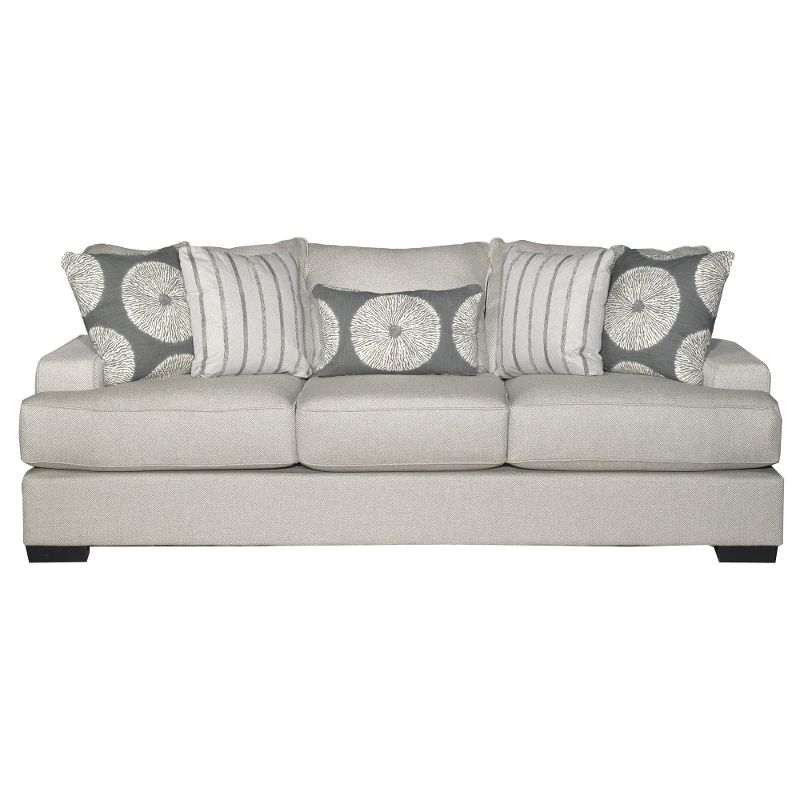 Amazing Casual Contemporary Flax Gray Sofa Raven Everything Home Alphanode Cool Chair Designs And Ideas Alphanodeonline