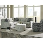Casual Contemporary Gray 2-Piece Sectional – Juno