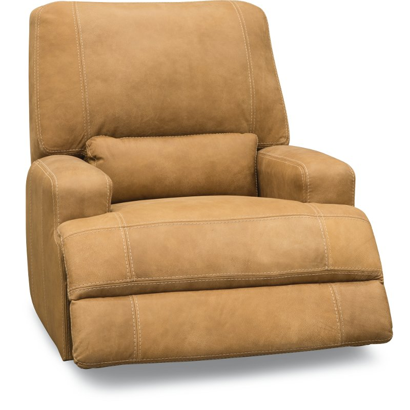 Admirable Casual Contemporary Palomino Brown Power Recliner Stallone Alphanode Cool Chair Designs And Ideas Alphanodeonline