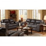 Casual Contemporary Steel Gray Sofa & Loveseat – Grant