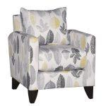 Casual Contemporary Stone Gray Leaf Chair – Bryn