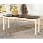 Casual Large Dining Room Bench