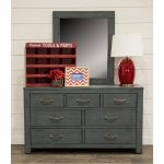 Casual Rustic Blue Dresser – Choices