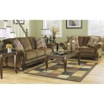 Casual Traditional Mocha Brown Sofa & Loveseat – Montgomery