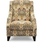 Casual Traditional Saffron Accent Chair – Bereta