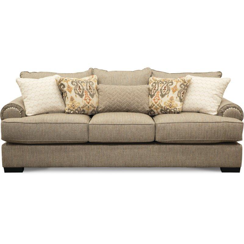 Fine Casual Traditional Taupe Sofa Bereta Everything Home Pabps2019 Chair Design Images Pabps2019Com