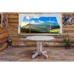 Center Pedestal Table – Montana