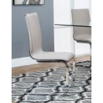 Champagne and Chrome Dining Chair