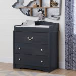 Changing Table with Drawers in Blueberry – Aviron