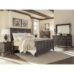 Charcoal Gray 6-Piece Queen Bedroom Set – Calistoga