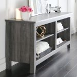 Charcoal TV Stand