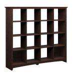 Cherry 16-Cube Storage Bookcase – Buena Vista