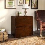 Cherry 2-Drawer Lateral File Cabinet – Ironworks