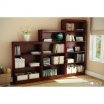 Cherry 4-Shelf Bookcase – Axess