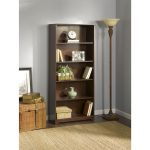 Cherry 5-Shelf Bookcase – Cabot