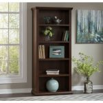 Cherry 5-Shelf Bookcase – Yorktown