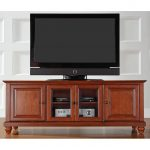Cherry 60 Inch Low Profile TV Stand – Cambridge