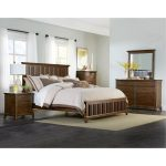 Cherry Brown Classic 6-Piece King Bedroom Set – Mill Creek