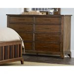 Cherry Brown Classic Dresser – Mill Creek