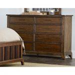 Cherry Brown Classic Dresser – Mill Creek